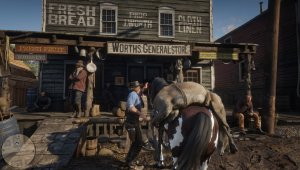Red Dead Redemption 2 скриншот 8