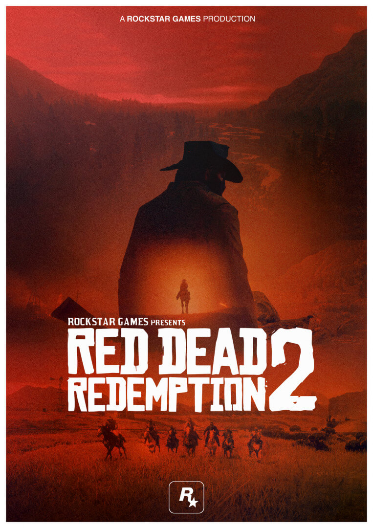 Арт Red Dead Redemption 2 / Картинка 1