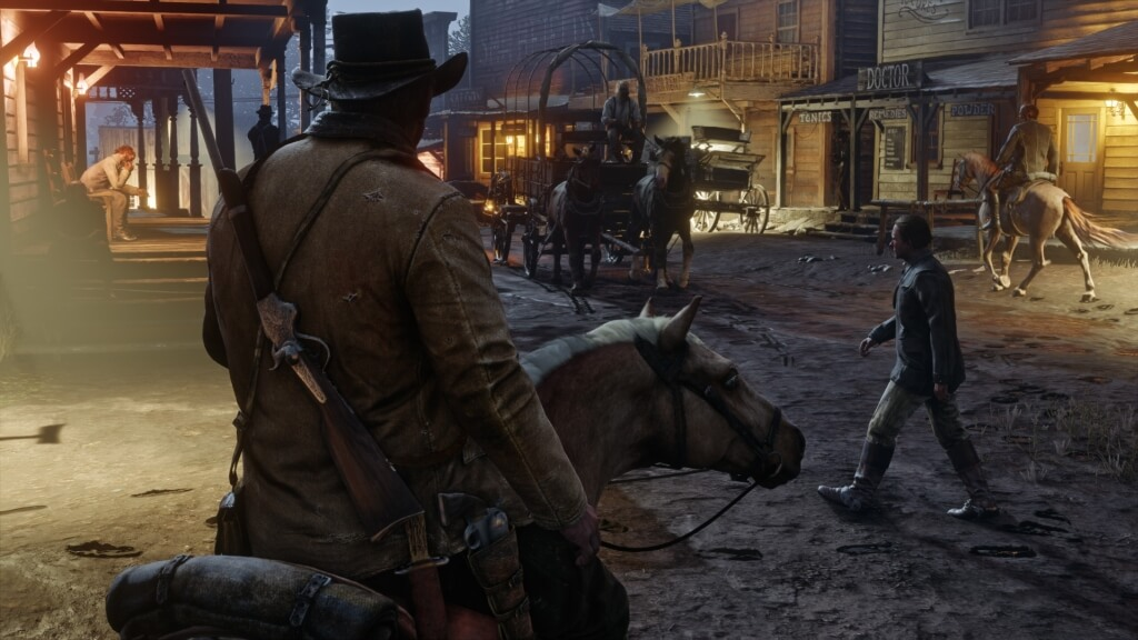 Город в Red Dead Redemption 2 фото