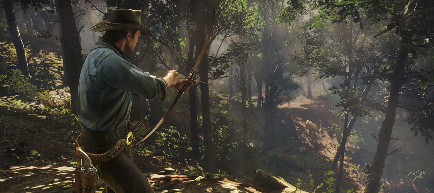 Луки в игре Red Dead Redemption 2 фото