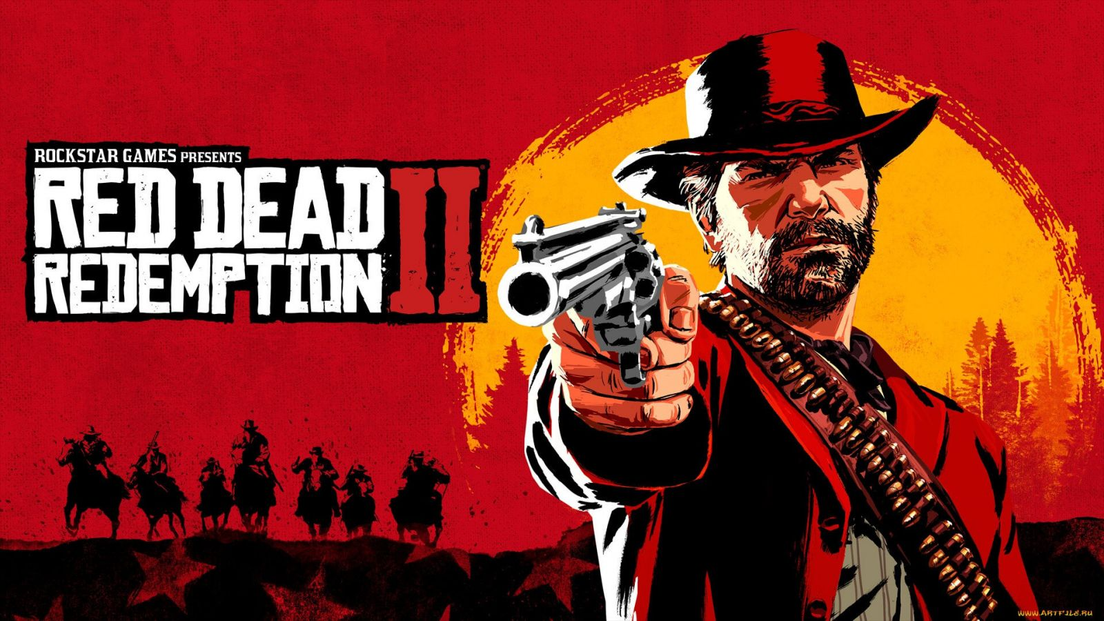 Арт Red Dead Redemption 2 / Картинка 3
