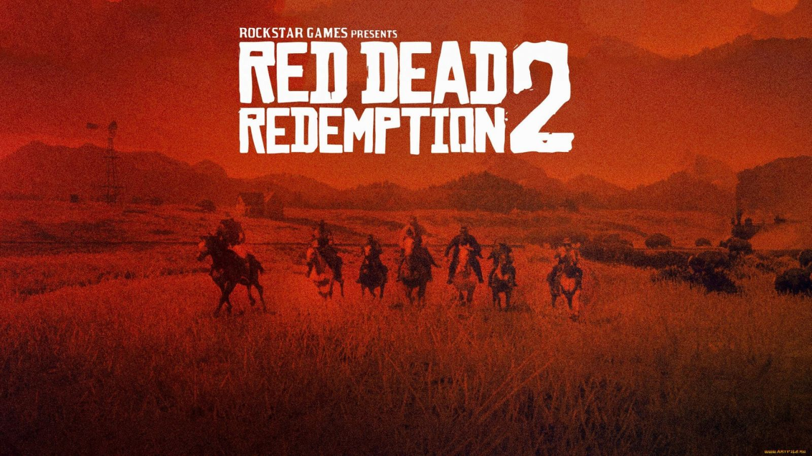 Арт Red Dead Redemption 2 / Картинка 4